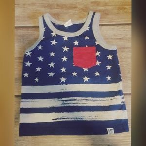 Babygap 12-18 month 4th of July tank top